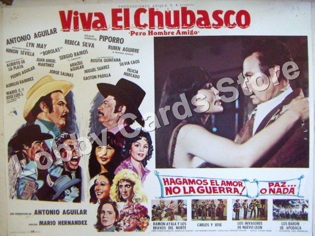 LYN MAY/VIVA EL CHUBASCO