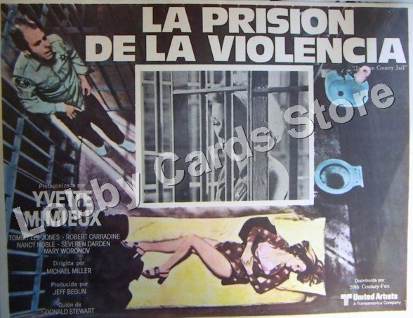 YVETTE MINIEUX./ THE PRISON OF THE VIOLENCE