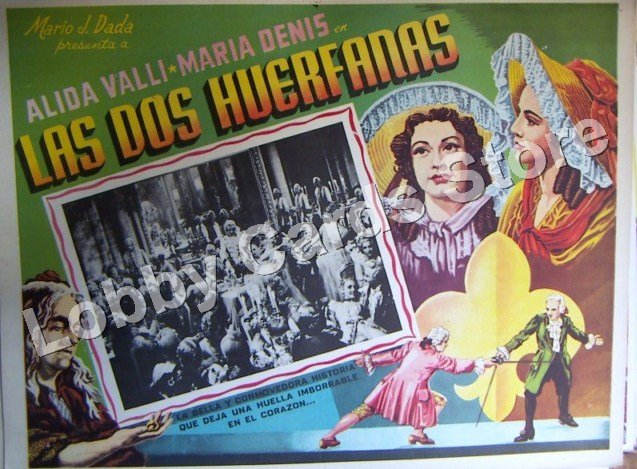 ALIDA VALLI./ 2 THE ORPHANS