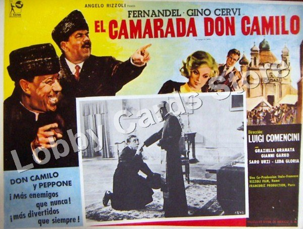 FERNANDEL./ THE COMPANION DON CAMILO
