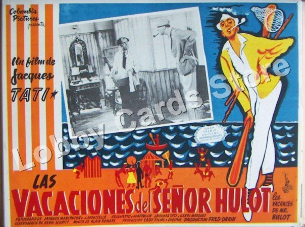 JAQUES TATI. /  THE VACATION OF THE MISTER M. HULOT